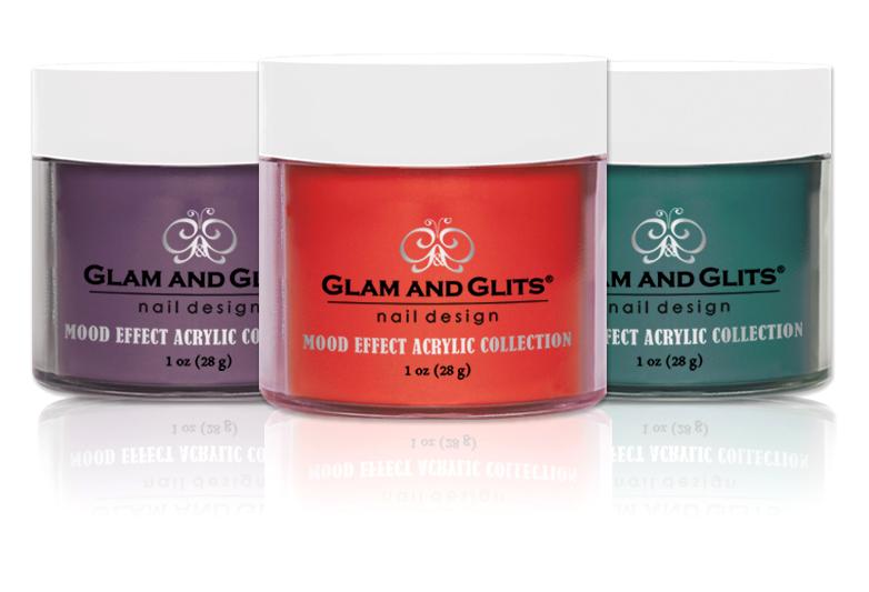 ACRYLIC POWDER - MOOD EFFECT ACRYLIC - Glam and Glits Nail Design